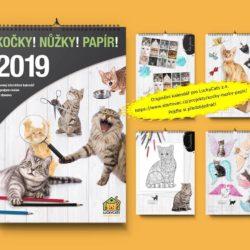 Výroba prvního interaktivního kočičího kalendáře!