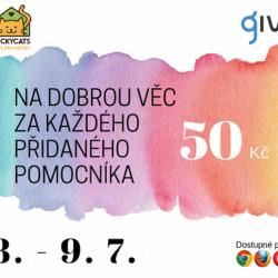 Pomozte nám pouhým kliknutím přes Givt.cz